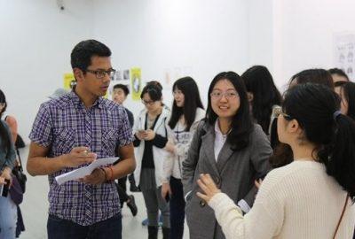 Teaching at Sichuan Fine Arts Institute Chongqing China