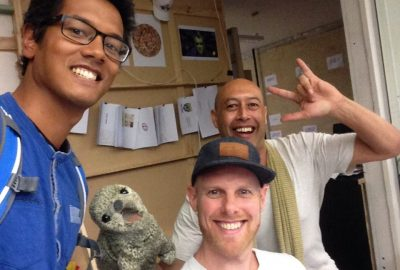 Creative Globetrotter werkt in Nieuw Zeeland bij JWT Auckland