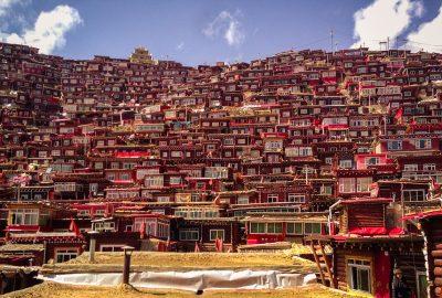 Sertar Larung Gar Sichuan province China