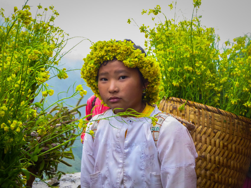 Locals Ha Giang dong van Vietnam