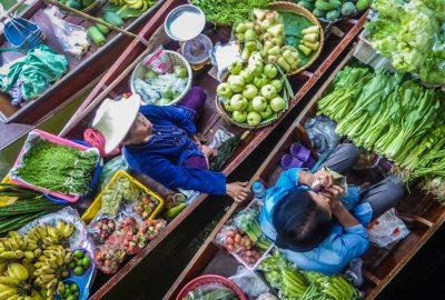 Bangkok Khlong Lat Mayon Floating market