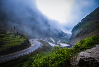 the roads in Ha Giang North Vietnam