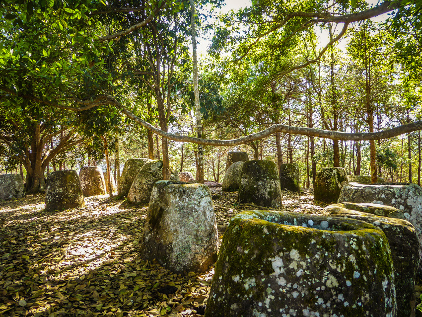 De potten van Phonsavan - Plain of jars