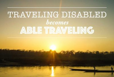 Traveling disabled becomes able traveling