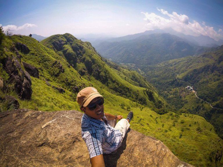 Ella mountain view Sri Lanka