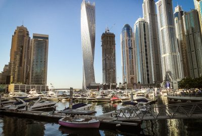 Jachthaven van Dubai