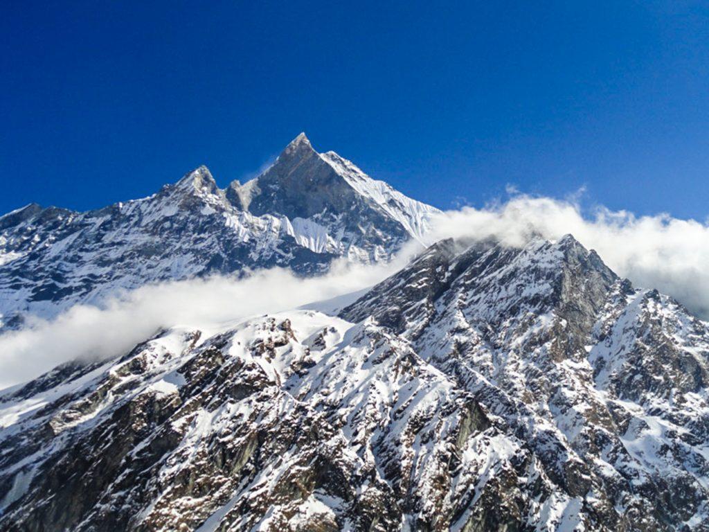 The Annapurna range - Annapurna base camp trekking, Nepal
