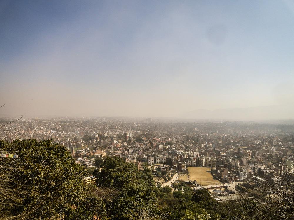 View on Kathmandu Nepal