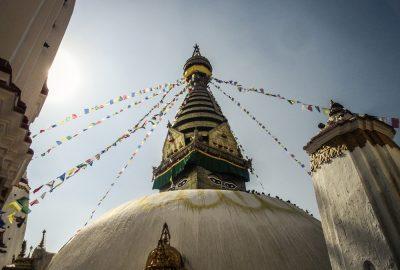 Monkey Tempel Kathmandu, Nepal