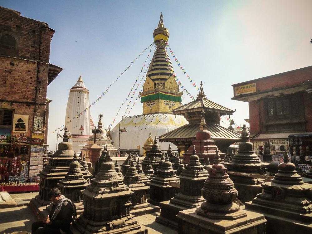 Monkey tempel, Kathmandu Nepal