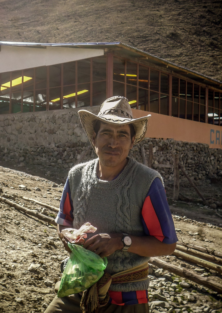 Local people Salkantay trekking, Peru