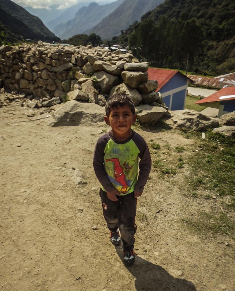 Salkantay trekking, Andes region Peru