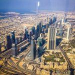 Uitzicht vanuit de Burj Khalifa