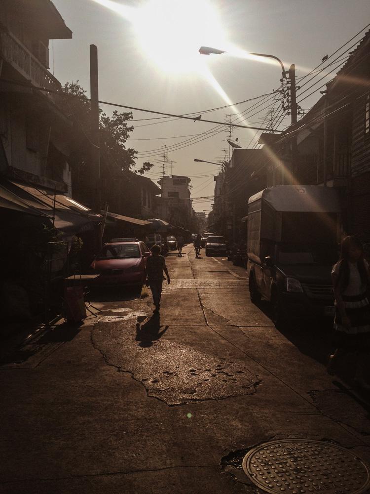 Streets in Bangkok Thailand
