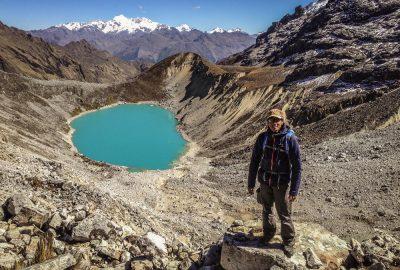 Salkantay pass, Andes plateau, Peru