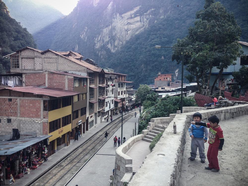 Aguas Caliente, Salkantay trekking Andes region Peru
