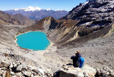Salkantay pass - Peru Andes Region