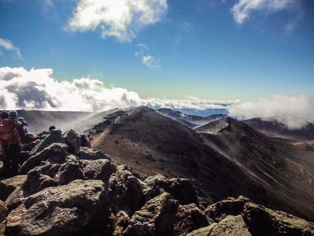 Tongariro Alpine Crossing Nieuw Zeeland