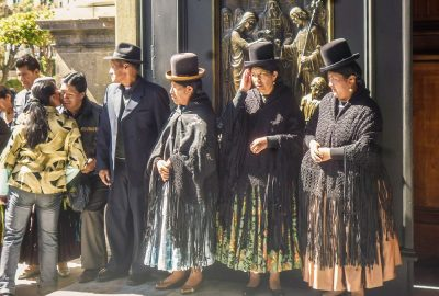 La Paz and El Alto local people, Bolivia