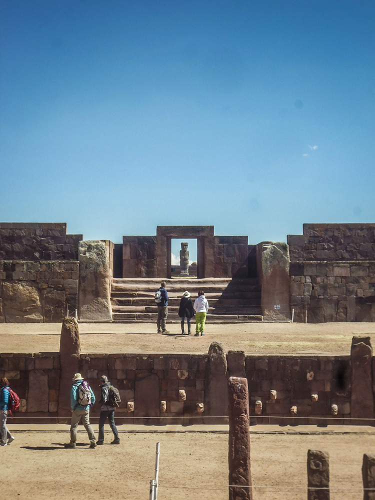 Tawanaka ancient temples Bolivia