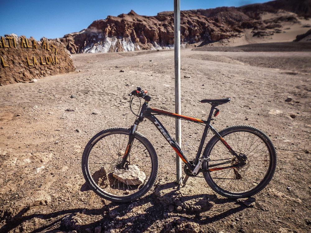 San Pedro de Atacama - mountainbiking the desert