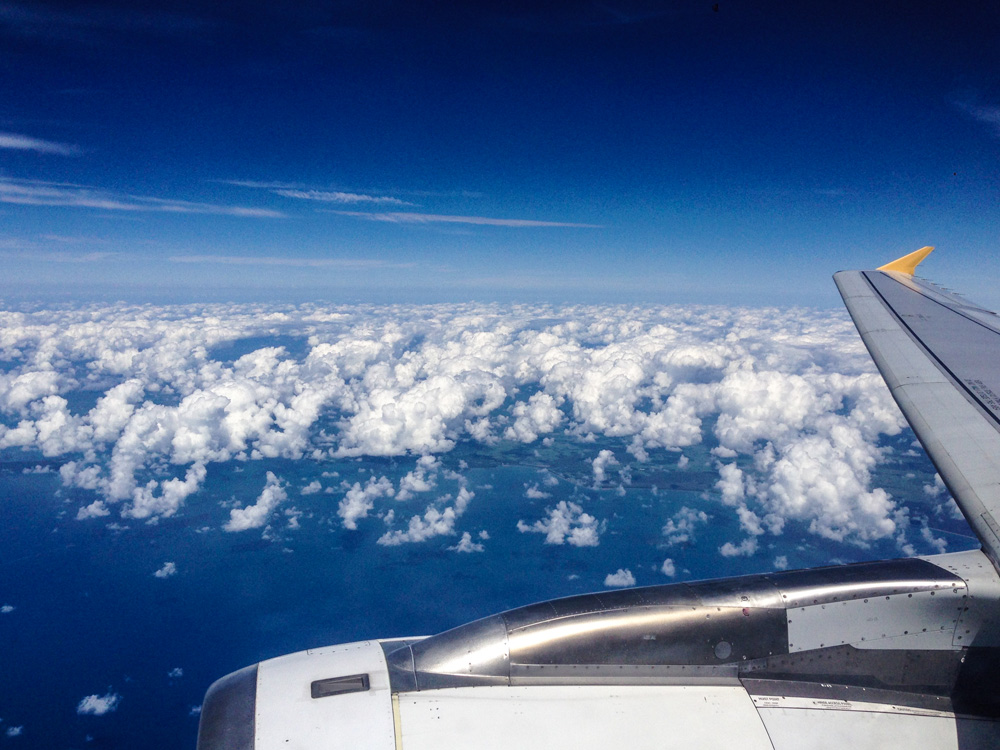 Flying back to Sydney Australië - Australia