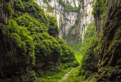 Wulong karst Chongqing China