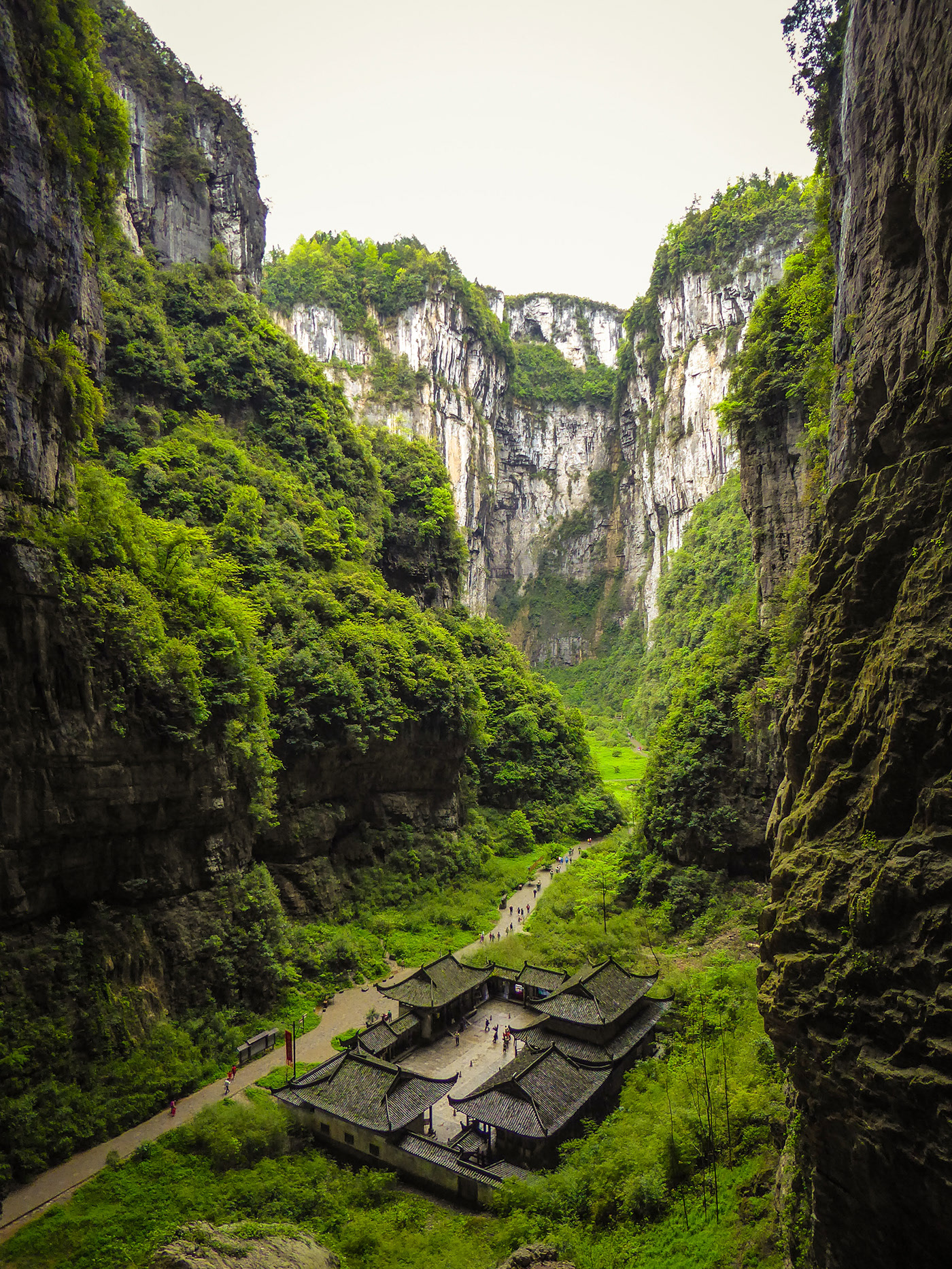 Wulong karst Chongqing China