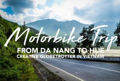 Motor bike trip from Da Nang to Hue Vietnam