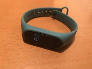 Xiaomi band 2 smart watch hard of hearing