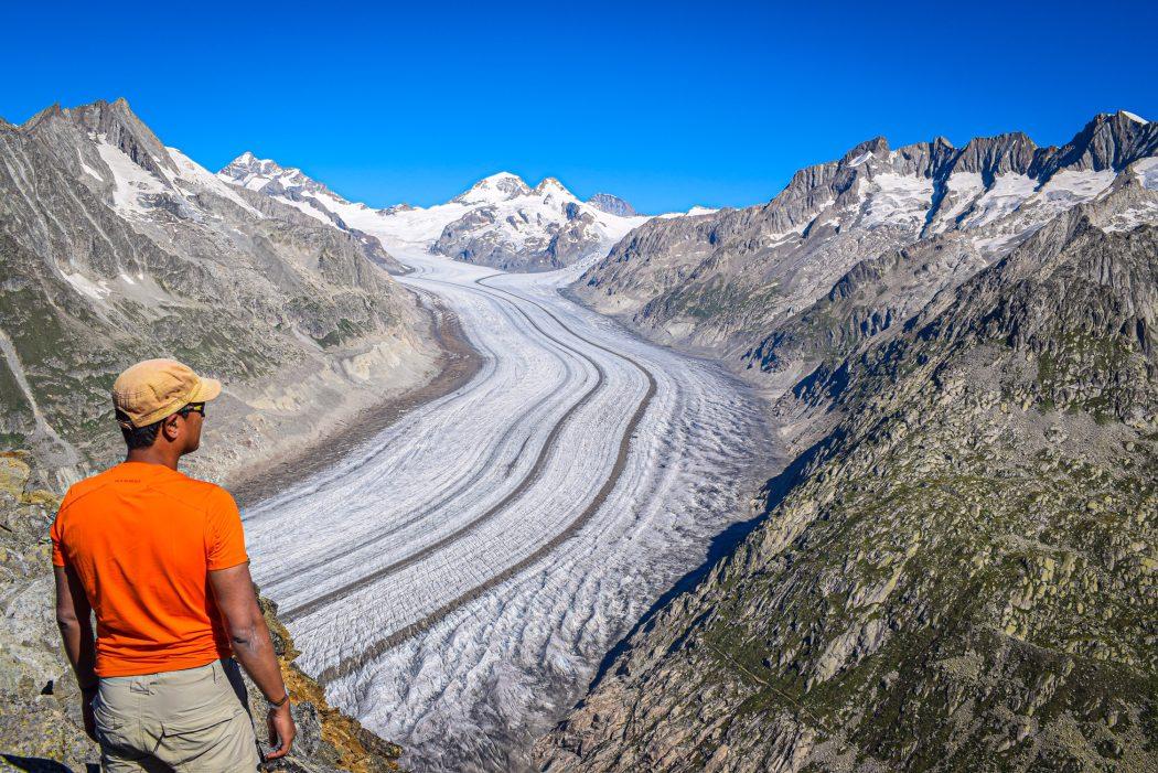 Swiss and Austrian alps